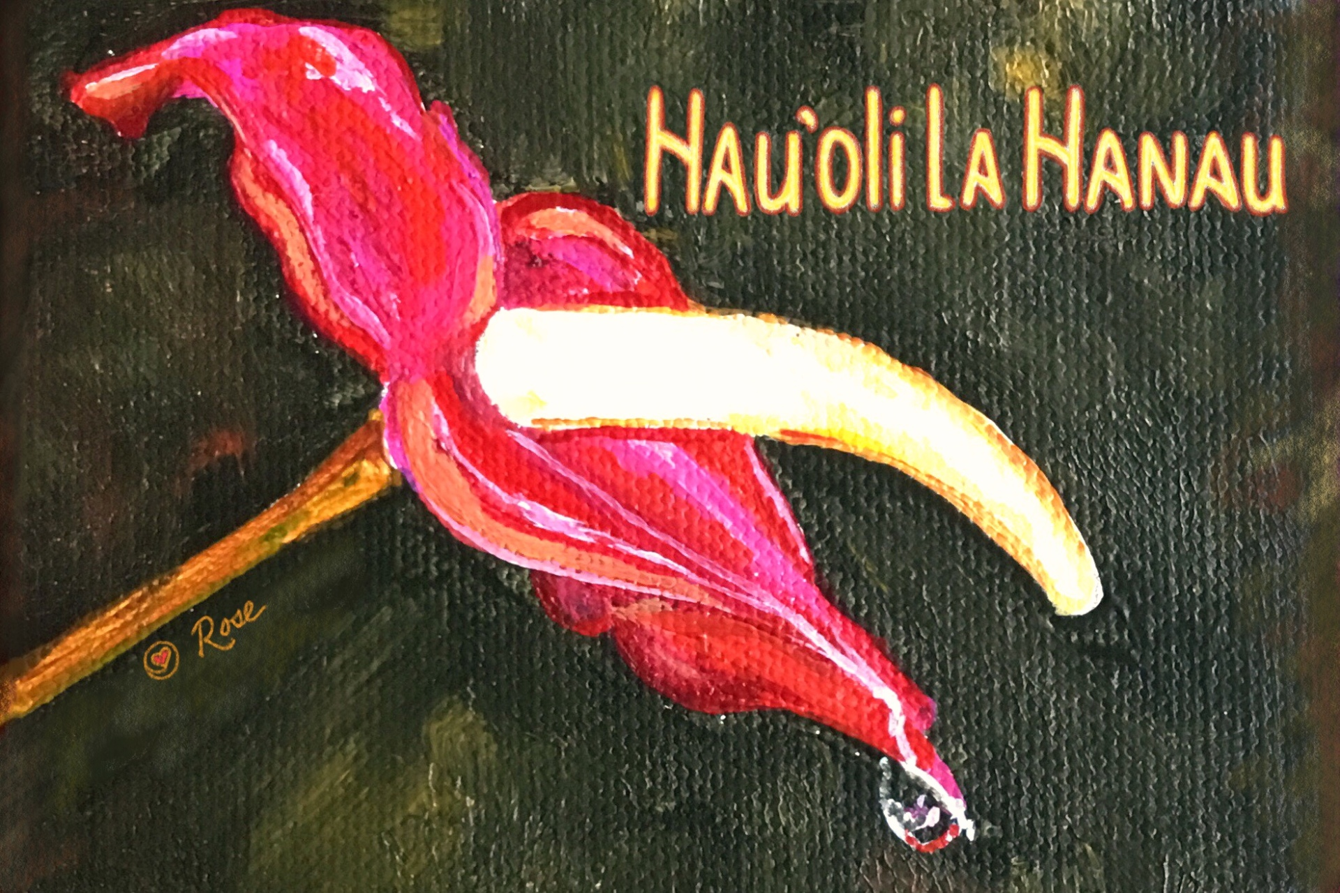 Hawaiian Birthday Anthurium 2